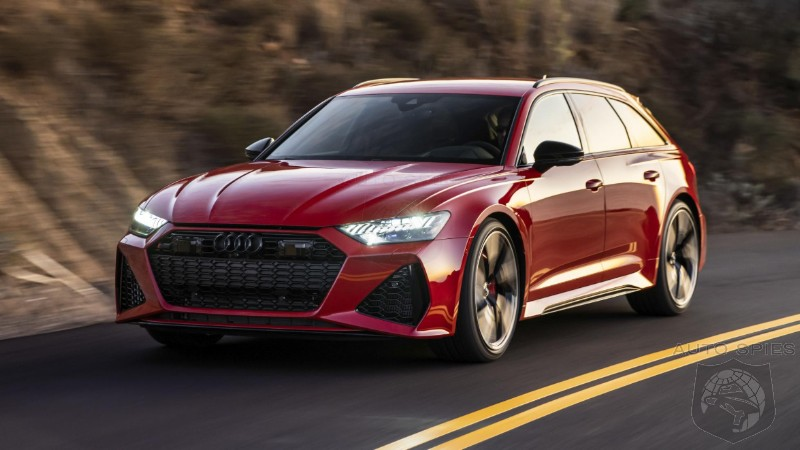 Bristling With 592HP Audi Asks:  How Can You NOT Fall In Love With A Performance Station Wagon?