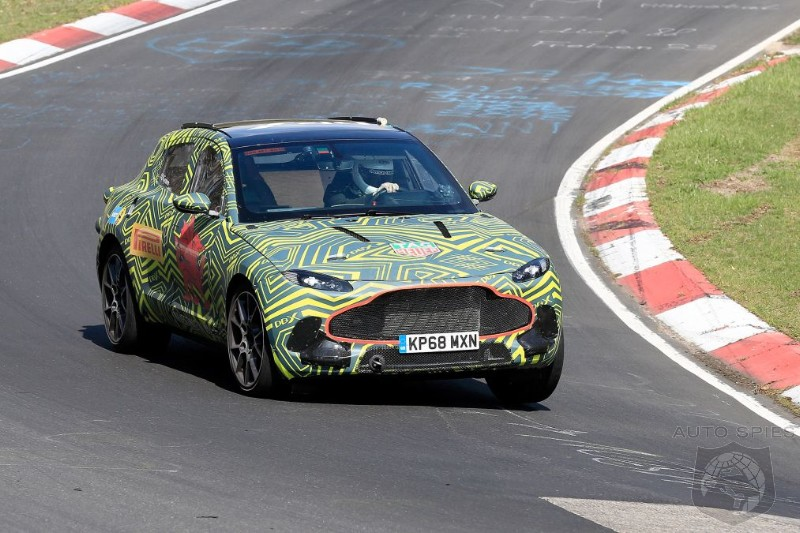 Aston Martin's DBX SUV Gets A Workout At The Nordschleife