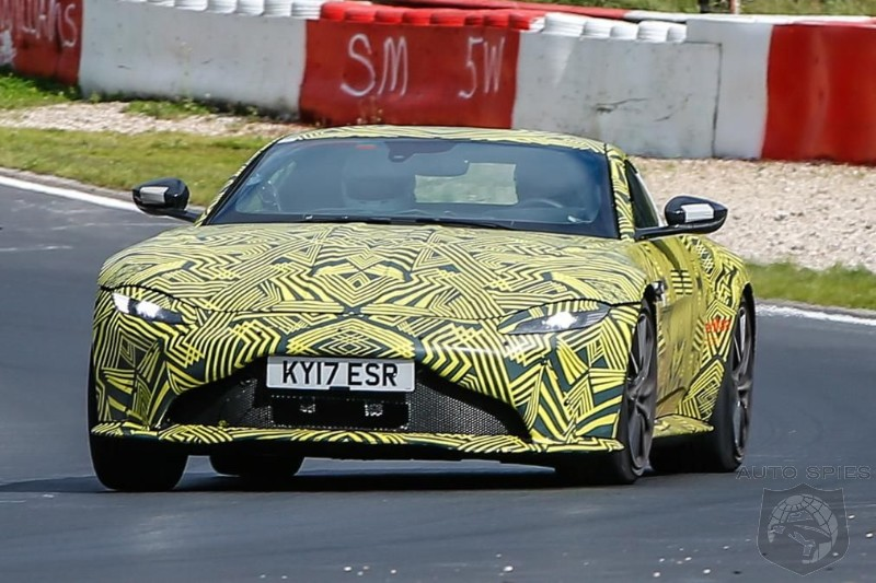 AMG Powered Aston Martin  V8 Vantage Caught During Final Phase Of Testing