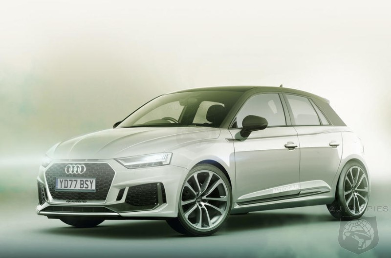 High Tech Audi A1 Aimed Squarely At The MINI Cooper