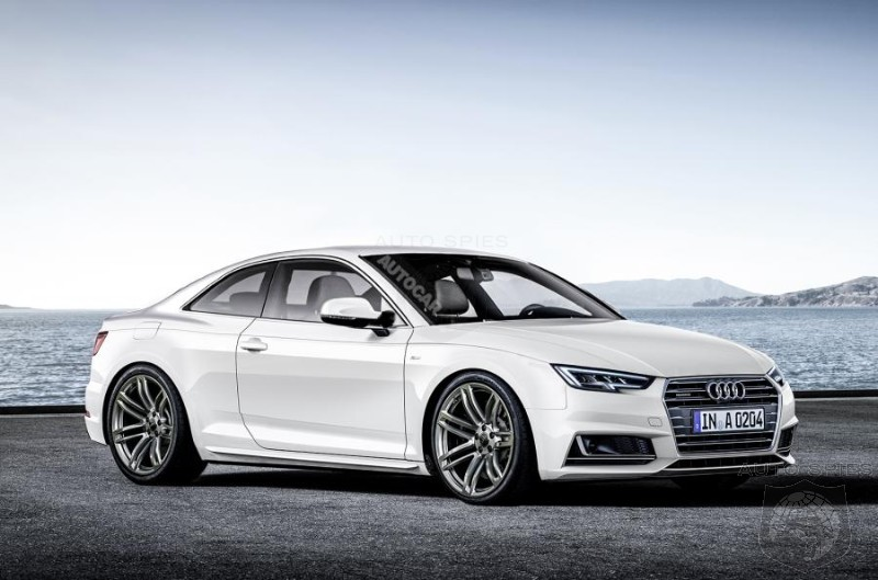 Audi Planning To Steal The 4 Series Thunder With 2017 A5
