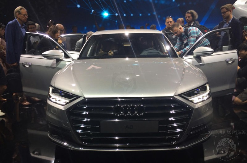 Audi Moves Upmarket With New A8 - Does the S-Class Have Anything To Worry About?