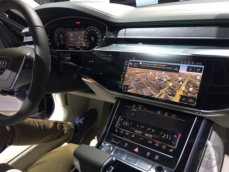 Audi's A8 Autonomous Feature Won't Be Enabled Until Congress Makes A Decision On Federal Rules