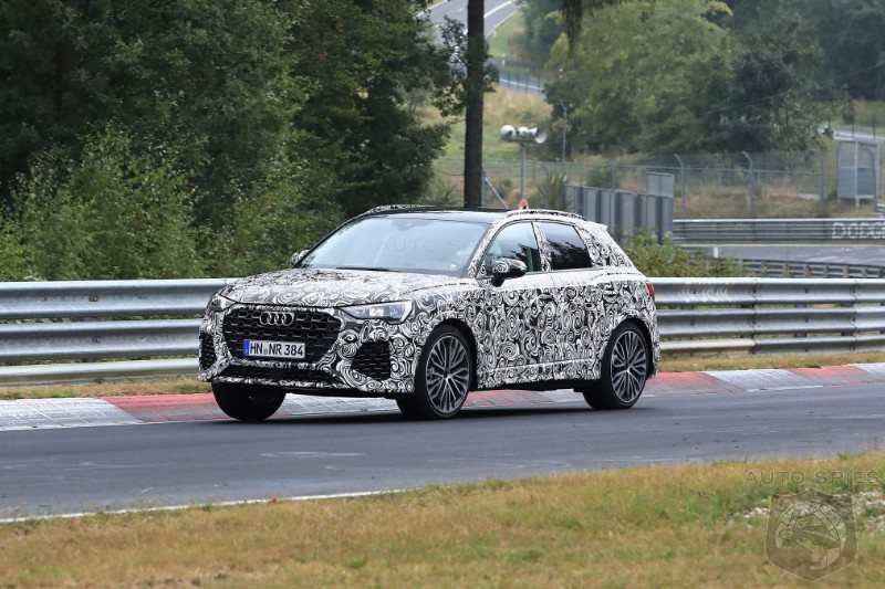 Making The Best Even Better? Audi's 400HP RS Q3 Caught Circling Nürburgring