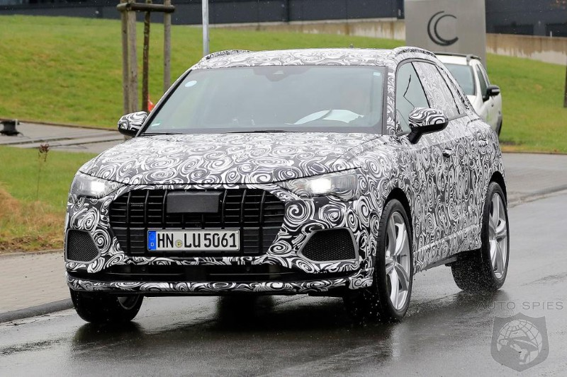 Audi Already Working On Performance Version Of New Q3 Crossover