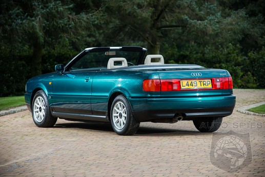 Your Chance At Royalty: Princess Diana's Audi 80 Goes On The Auction Block