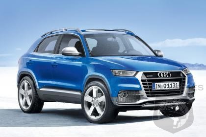 Audi Q1 Mini Suv To Debut In 2016