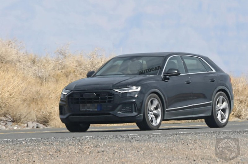 Audi's New Q8 Caught Cammo Free - Should BMW's X6 Be Worried?