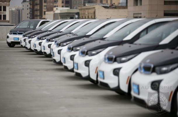 Millions Wasted: LAPD's Fleet Of BMW i3 Aren't Being Used