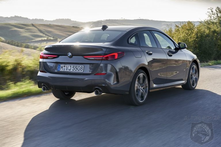 Can't Be Caught Dead In A Corolla? New 2-Gran Coupe Can Meet Your Needs At Twice The Price