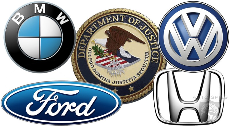 DOJ Moves Investigation Ahead On California Collusion With Automakers