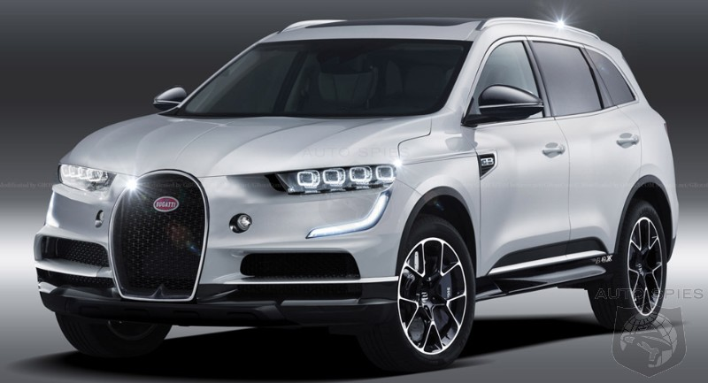 How Long Until Bugatti Brings A SUV To Market?