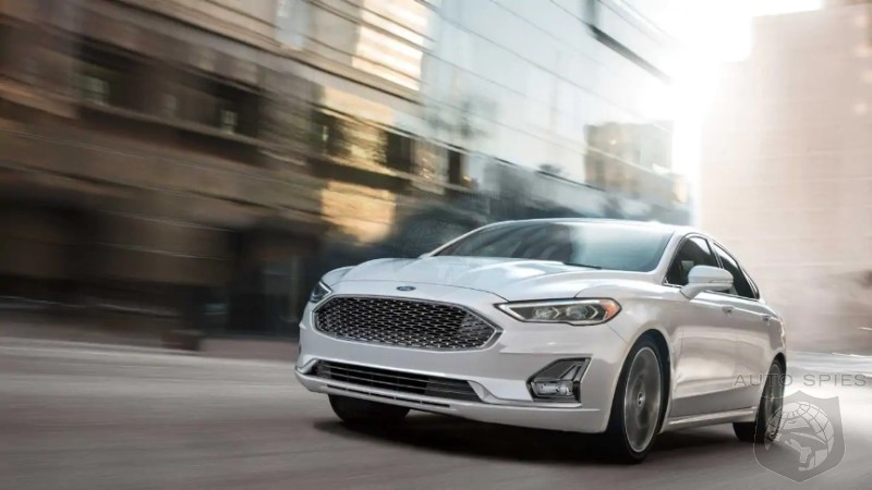 RIP Fusion: Ford Kills Off Last Remaining Sedan In Lineup