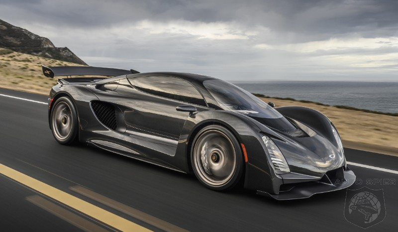1200HP Czinger 21C Hypercar Becomes Official Ahead Of Geneva