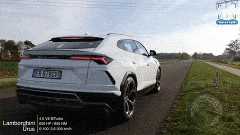Watch As A Lamborghini Urus Runs From Zero to 190MPH Effortlessly