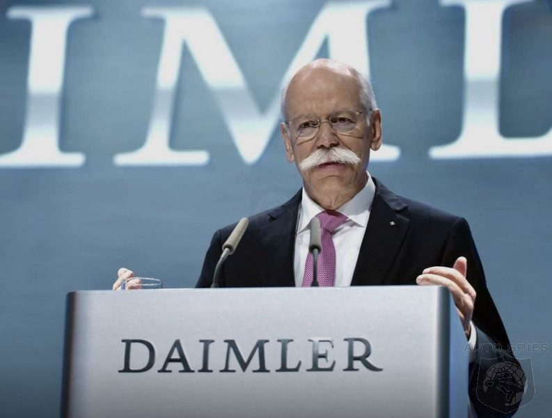 Former Daimler CEO Dieter Zetsche Gives Credit Where Credit Is Due, Expresses Admiration For Tesla