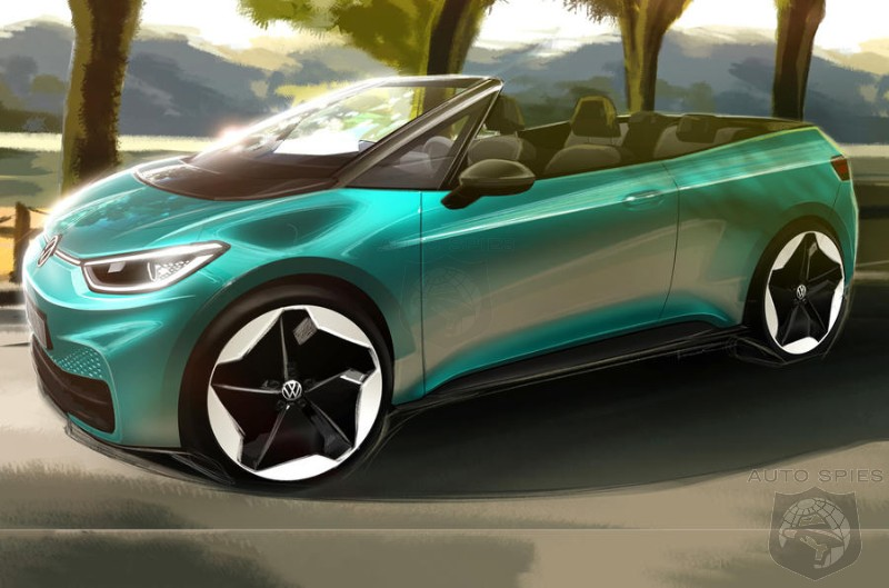 Volkswagen's ID 3 May Be The First EV Convertible