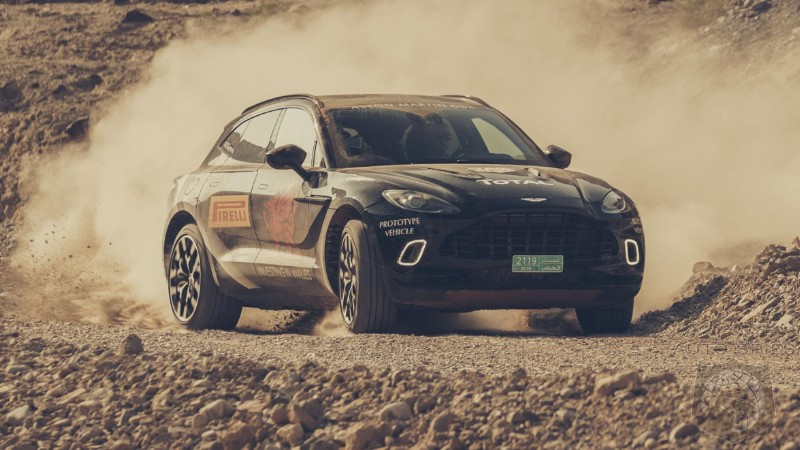 Aston Martin's 542HP DBX Protoype Gets Run Through The Paces And It Is Going To Be A Beast