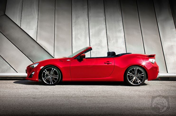 Drop Top GT86/BRZ May Enter Production In 2014