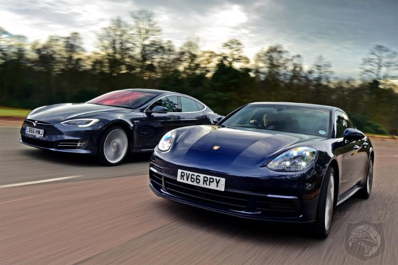 Panamera 4S Diesel vs Tesla Model S P100D - Can The EV Overpower The Diesel?