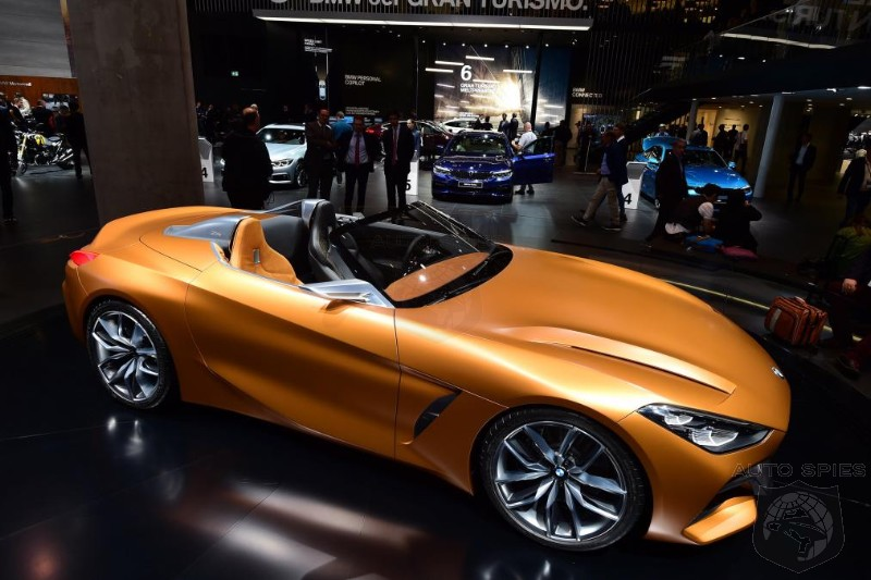 #IAA: BMW Unveils The New Concept Z4 To The European Market For The First Time