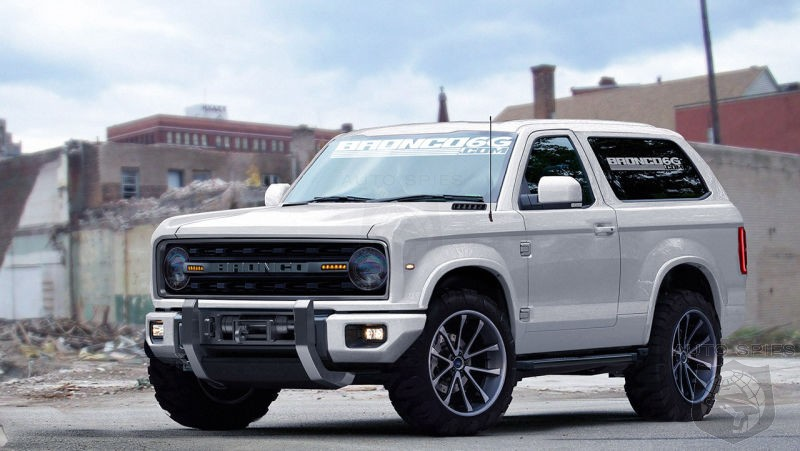 If Ford's New Bronco Looks Like This, Would You Be Whipping Out The Checkbook?
