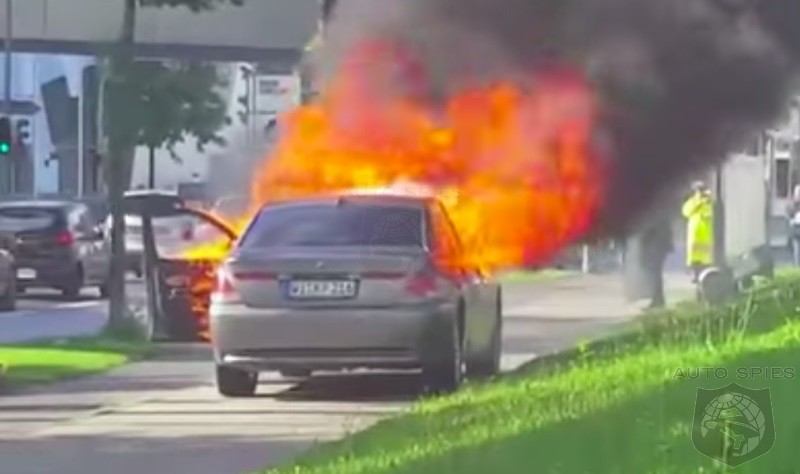 Disappointed Italian Businessman Vents Anger By Destroying Multiple BMWs