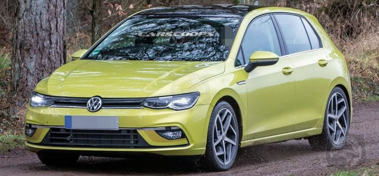 STUD OR DUD? 2020 Golf Mk8 Caught Uncovered From All Angles