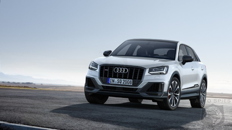 European Order Books Open For Audi's 300HP SQ2 High Performance Crossover