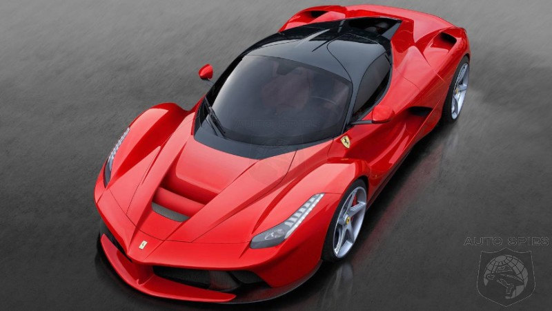 Study Shows Ferrari Rakes In $80K In Profit Per Vehicle - Jaguar/Land Rover Just $900