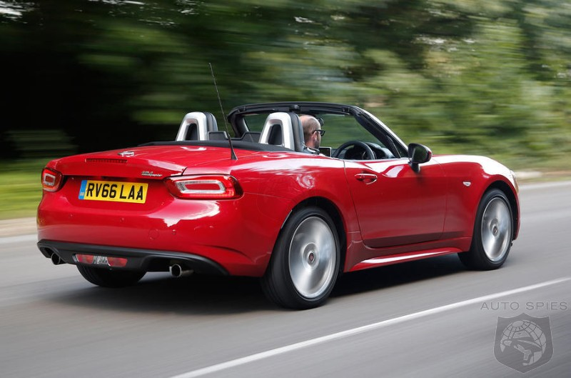 Fiat Abandons Base 124 Spider In UK Market - Where Next?