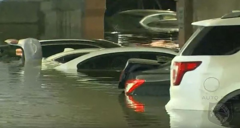 Travelers To Dallas Return To Flooded Airport Parking Garages