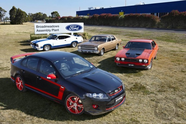 Ford To Shutter All Australian Auto Plants In 2016
