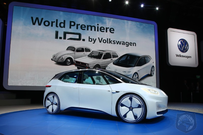Volkswagen To Leave A Gaping Hole At 2018 Paris Auto Show