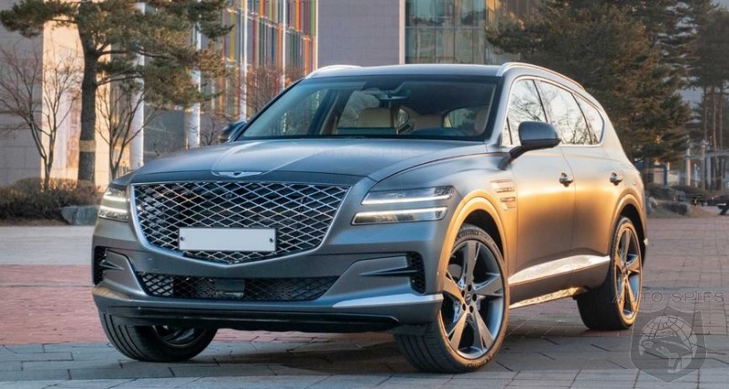 Parts Shortage Stalls Hyundai Palisade And Genesis GV80 Production