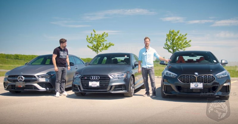WATCH: 2020 Mercedes-AMG CLA 35 vs Audi S3 vs BMW M235i Gran Coupe - Someone Walks Away VERY Disappointed