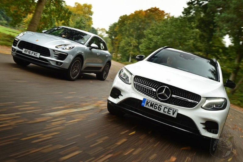 Mercedes-Benz GLC 43 AMG Vs Porsche Macan S - Who Will Be The King Of The Entry Level Performance Crossovers?