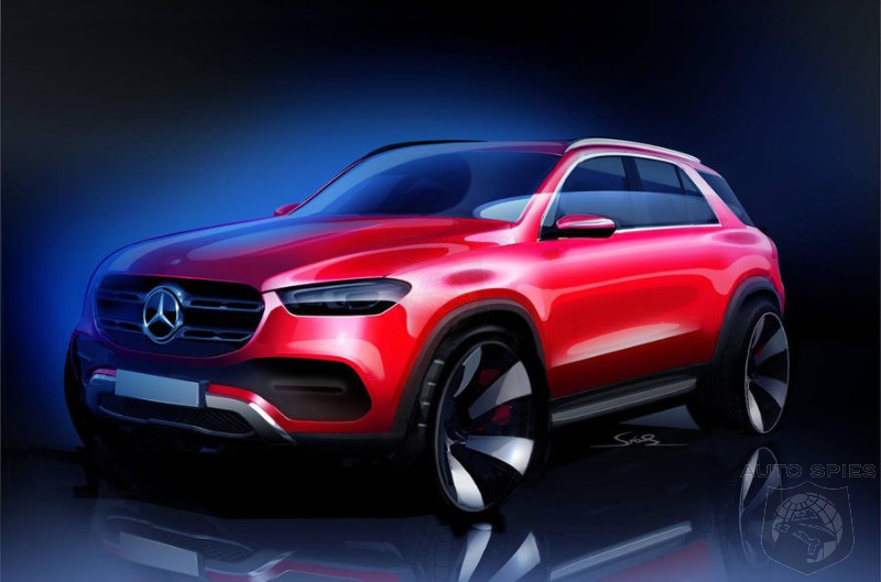 Mercedes Goes For The Throat Of The Macan And Range Rover Sport With All New GLE
