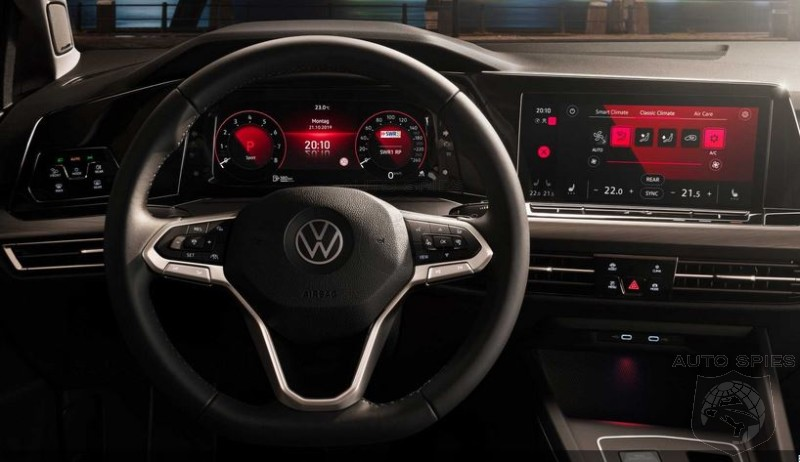 Volkswagen Moves Forward With Golf 8 Production After Software Fix