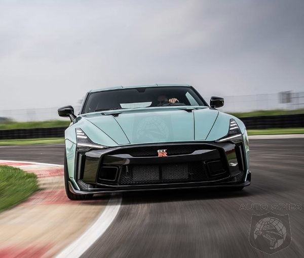 Got A  Million Dollars Burning A Hole In Your Pocket? The Italdesign GT-R50 Is Ready For You