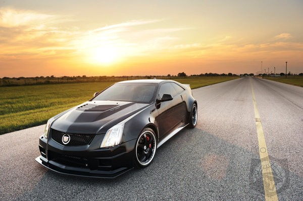 Move Over Veyron THIS 1226HP Cadillac Is Here To Take Your Place!