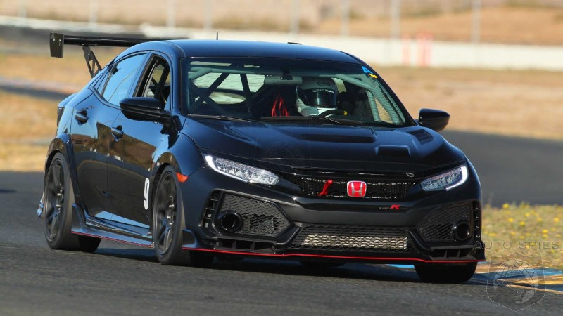 How Big Of A Fan Are You? Honda's Race Ready Civic Type R TC Will Set You Back A Cool $90,000