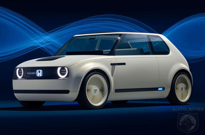 #IAA: Honda Uncloaks The Urban EV Concept And Makes Plan For Market In 2019
