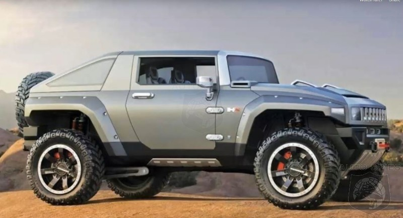 Jeepers Creepers: Hummer May Target The Wrangler With A 2 Door HX Electric