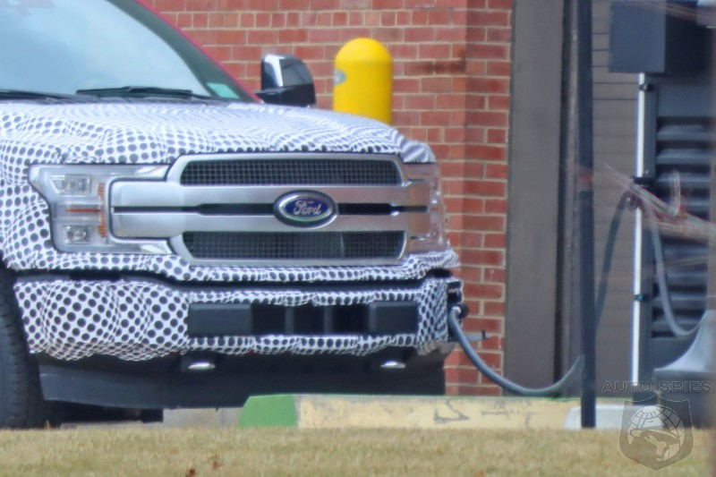 All Electric F-150 Nabbed While Charging - Will It Succeed?