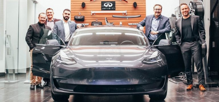 Infiniti Dealership Sells Loyal Customer A Tesla Until Brand Has An EV Of It's Own