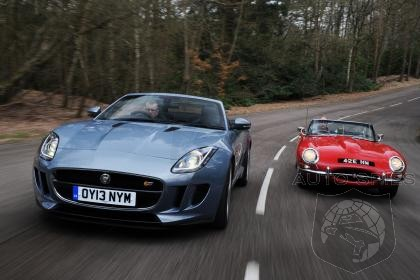 Does Jaguar's New F-Type Have What It Takes To Stand Side By Side  With The Legendary  E-Type?