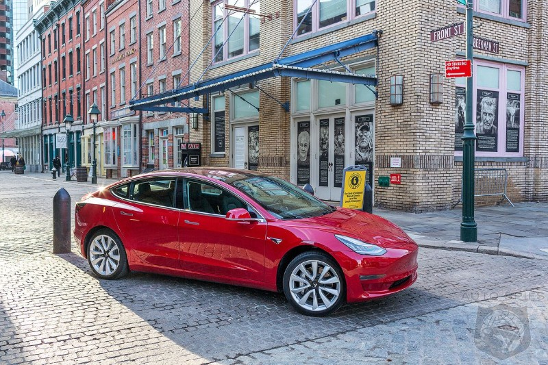 Tesla's Model 3 Becomes The Netherlands Top Selling Car