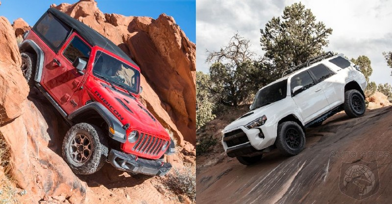 Jeep Wrangler Vs Toyota 4 Runner - Which Is The Best For Canyon Climbing?