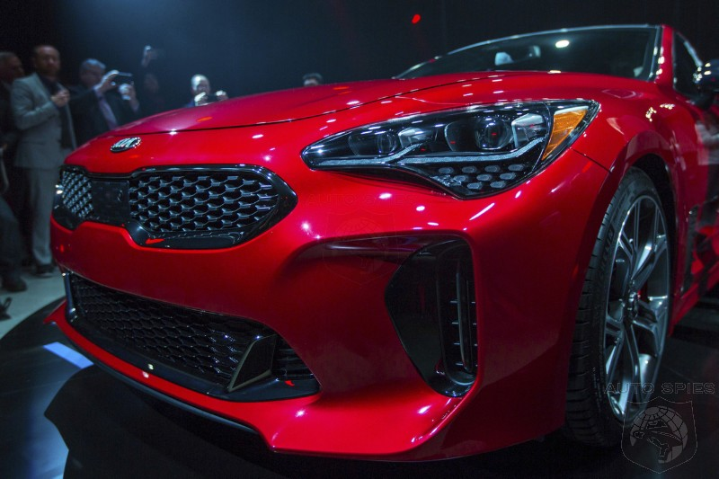 YIKES!  Kia's New Stinger To Undercut BMW 4 Series By Over $11,000!